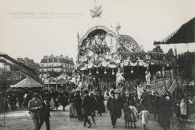 La Foire Du Trône, Place De La Nation, Paris, C.1905--Giclee Print