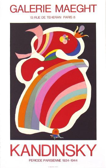 La Forme Rouge, 1938-Wassily Kandinsky-Collectable Print