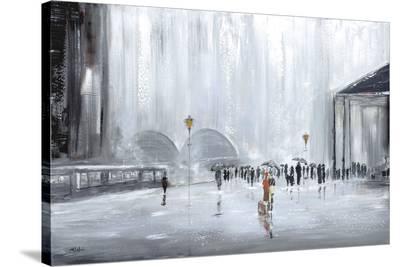 La Gare-Aziz Kadmiri-Stretched Canvas Print