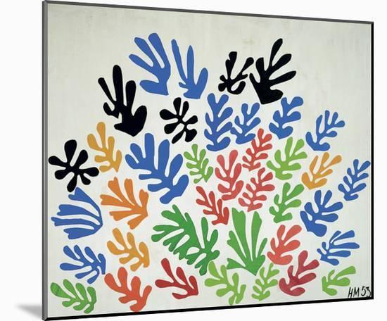 La Gerbe-Henri Matisse-Mounted Art Print