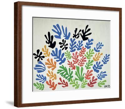 La Gerbe-Henri Matisse-Framed Art Print