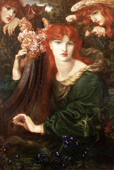 La Ghirlandata, 1873-Dante Gabriel Rossetti-Giclee Print