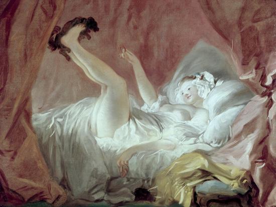 La Giambette-Jean-Honor? Fragonard-Giclee Print