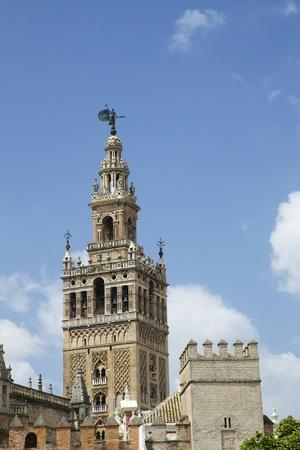 La Giralda, Bell Tower, Seville Cathedral, Seville, Andalucia, Spain-Peter Barritt-Photographic Print