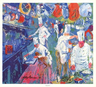 La Grande Cuisine-LeRoy Neiman-Collectable Print
