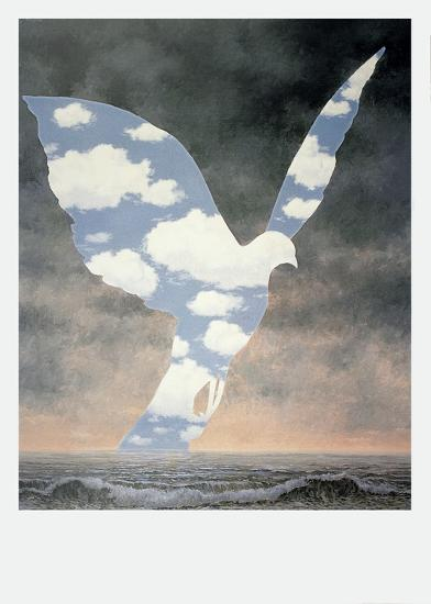 La Grande Famille-Rene Magritte-Art Print