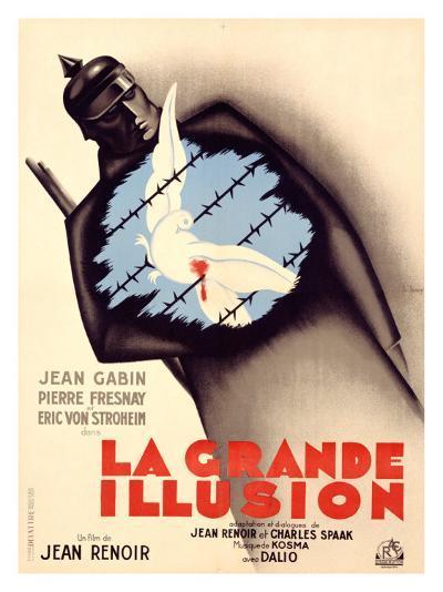 La Grande Illusion-Bernard Lancy-Giclee Print