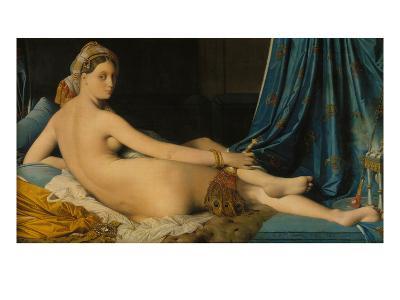 La Grande Odalisque, 1814-Jean-Auguste-Dominique Ingres-Giclee Print