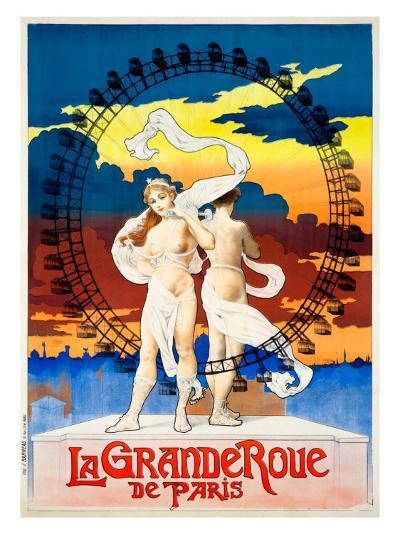 La Grande Roue de Paris--Giclee Print