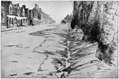La Grande Rue, Flandre, 1898-Albert Baertsoen-Giclee Print