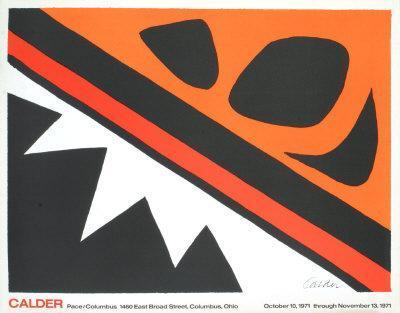 La Grenouille et Cie-Alexander Calder-Art Print
