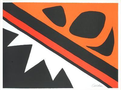 La Grenouille et la Scie-Alexander Calder-Art Print