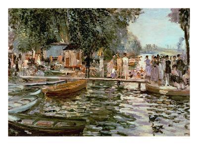 La Grenouillere, 1869-Pierre-Auguste Renoir-Giclee Print