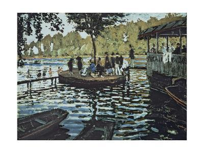 La Grenouillere, 1869-Claude Monet-Giclee Print