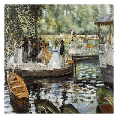 La Grenouillère 2-Pierre-Auguste Renoir-Art Print