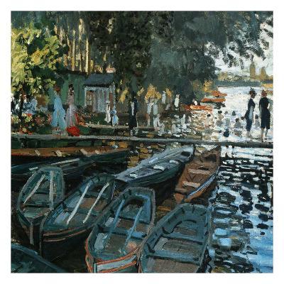 La Grenouillère-Pierre-Auguste Renoir-Art Print