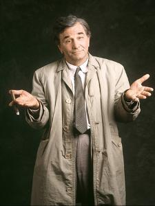 La griffe du crime by Vincent McEveety with Peter Falk, 1997 (inspecteur Columbo) (photo)