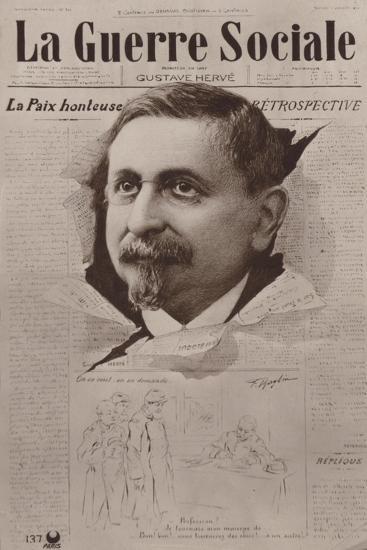 La Guerre Sociale, French Socialist Newspaper--Giclee Print