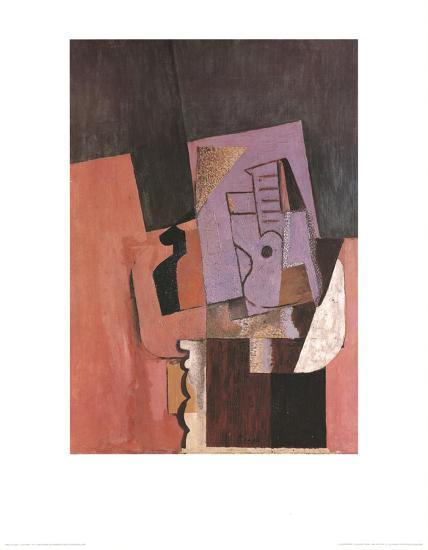 La Guitare-Pablo Picasso-Art Print