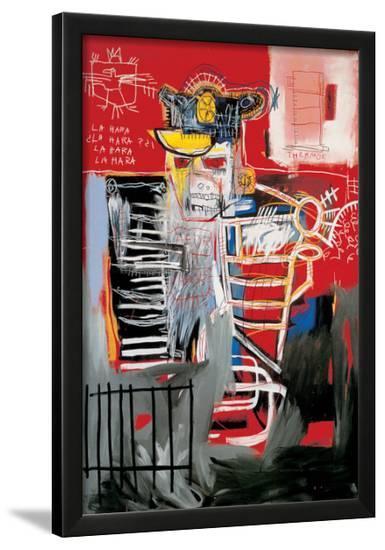La Hara-Jean-Michel Basquiat-Framed Giclee Print
