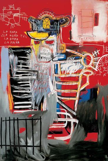 La Hara-Jean-Michel Basquiat-Giclee Print