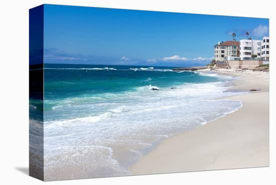 La jolla beach shore san diego stretched canvas print by art la jolla beach shore san diego stretched canvas print reheart Image collections