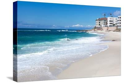 La Jolla Beach Shore San Diego--Stretched Canvas Print