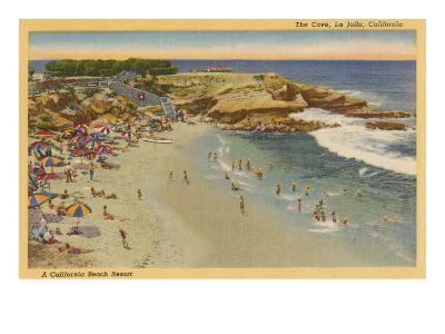 La Jolla Cove, California--Art Print
