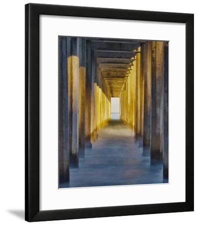 La Jolla Pier II-William Neill-Framed Giclee Print