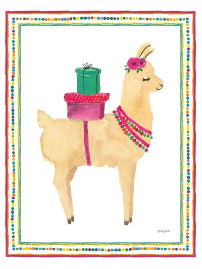 La La Llama I-Jenaya Jackson-Art Print