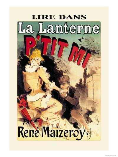 La Lanterne: P'tit Mi-Jules Ch?ret-Art Print