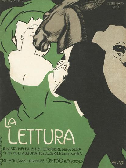 La Lettura Cover-Marchello Dudovich-Giclee Print