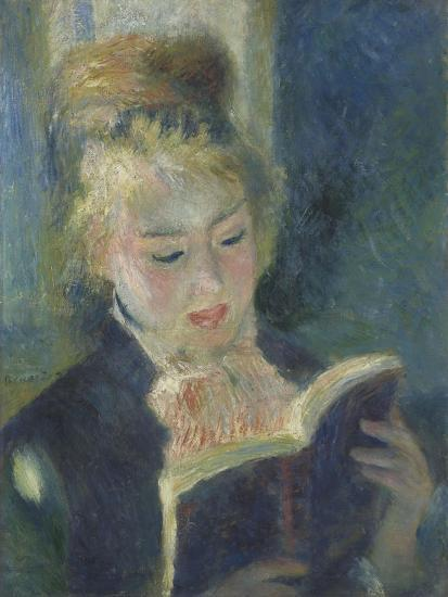 La liseuse-Pierre-Auguste Renoir-Giclee Print