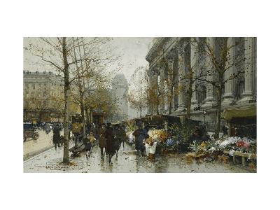 La Madelaine, Paris-Eugene Galien-Laloue-Giclee Print