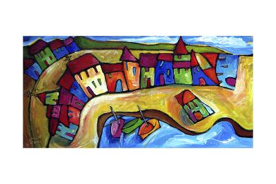 La Madrague, Cote d'Azur - France-Sara Catena-Giclee Print
