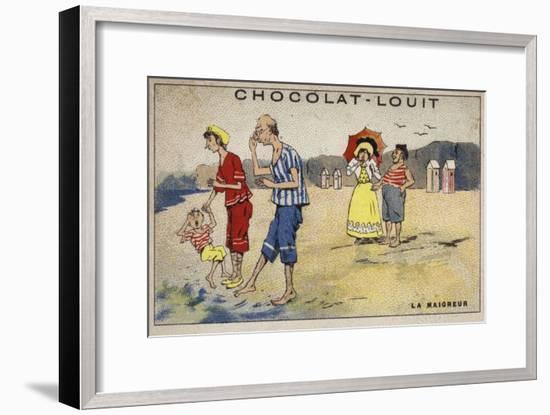 La Maigreur--Framed Giclee Print
