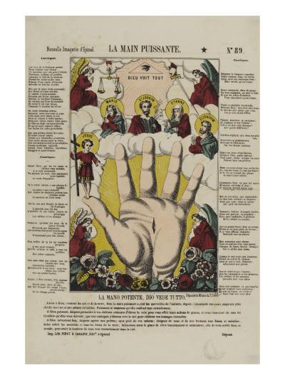 La main puissante--Giclee Print
