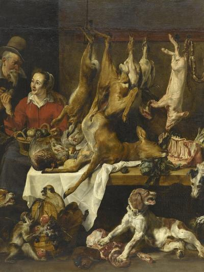 La marchande de gibier-Frans Snyders-Giclee Print