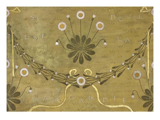 La Margarete, Wallpaper Design-William Morris-Giclee Print