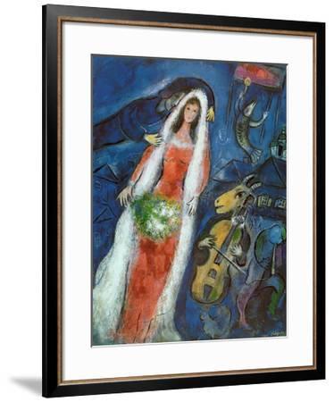 La Mariee-Marc Chagall-Framed Art Print