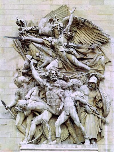 La Marseillaise, Detail from the Eastern Face of the Arc De Triomphe, 1832-35-Francois Rude-Giclee Print