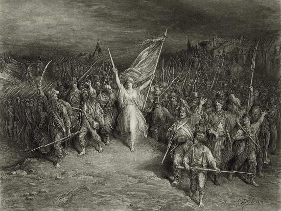 La Marseillaise-Gustave Dor?-Photographic Print