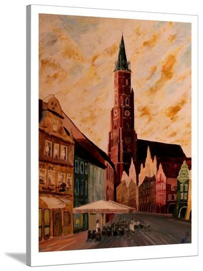 La Martin-M Bleichner-Stretched Canvas Print