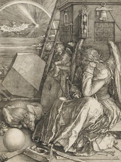 La Mélancolie-Albrecht D?rer-Giclee Print