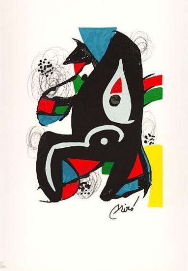La Melodie Acide VI-Joan Mir?-Collectable Print