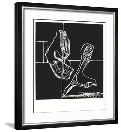 La Mer Est Toujours Presente X-Le Corbusier-Framed Premium Edition