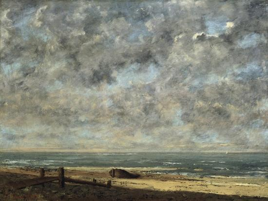 La Mer-Gustave Courbet-Giclee Print