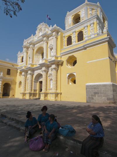 La Merced Church, Antigua, UNESCO World Heritage Site, Guatemala, Central America-Sergio Pitamitz-Photographic Print