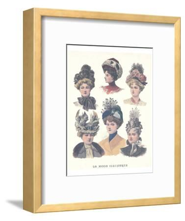 La Mode Illustree, Chapeaux I