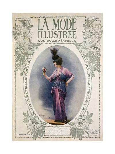 La Mode Illustree Cover, August 1934, Italian Fashion Magazine--Giclee Print